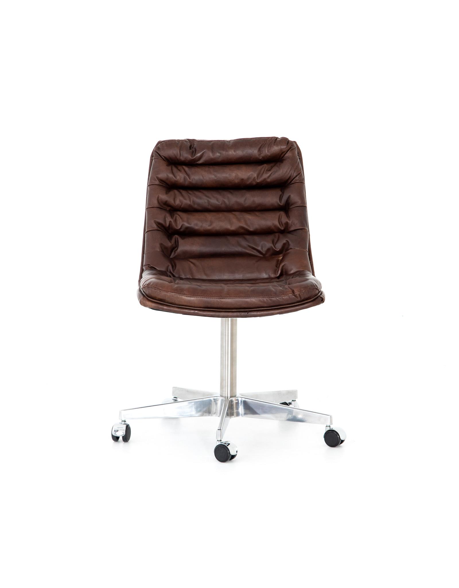 *Malibu Desk Chair - Antique Whiskey