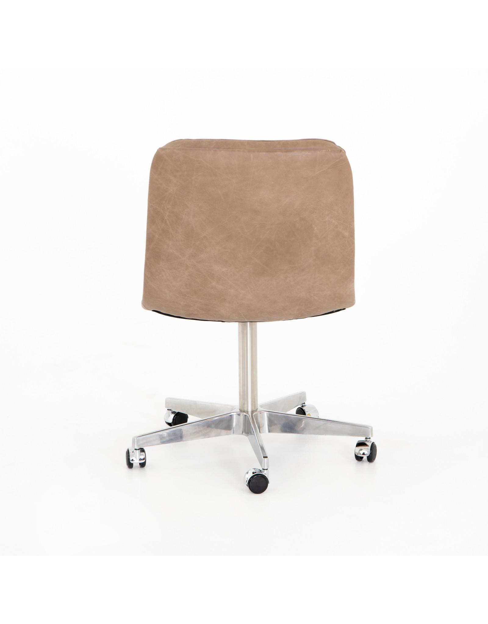 *Malibu Desk Chair - Natural Washed