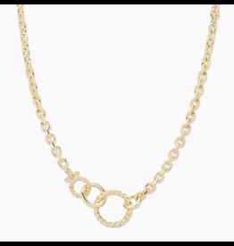 Gorjana Crew Link Necklace - gold