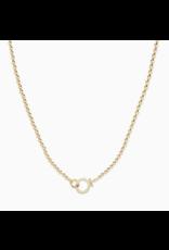 Gorjana Parker Bead Necklace - gold