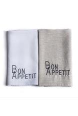 Bon Appetit Handtowel Flax