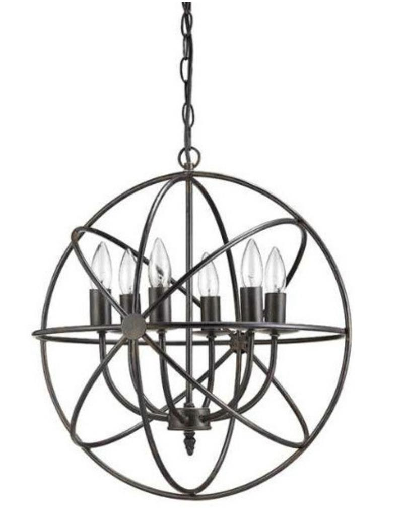 Haven 6 Light Chandelier