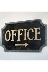 Vintage Style Office Sign