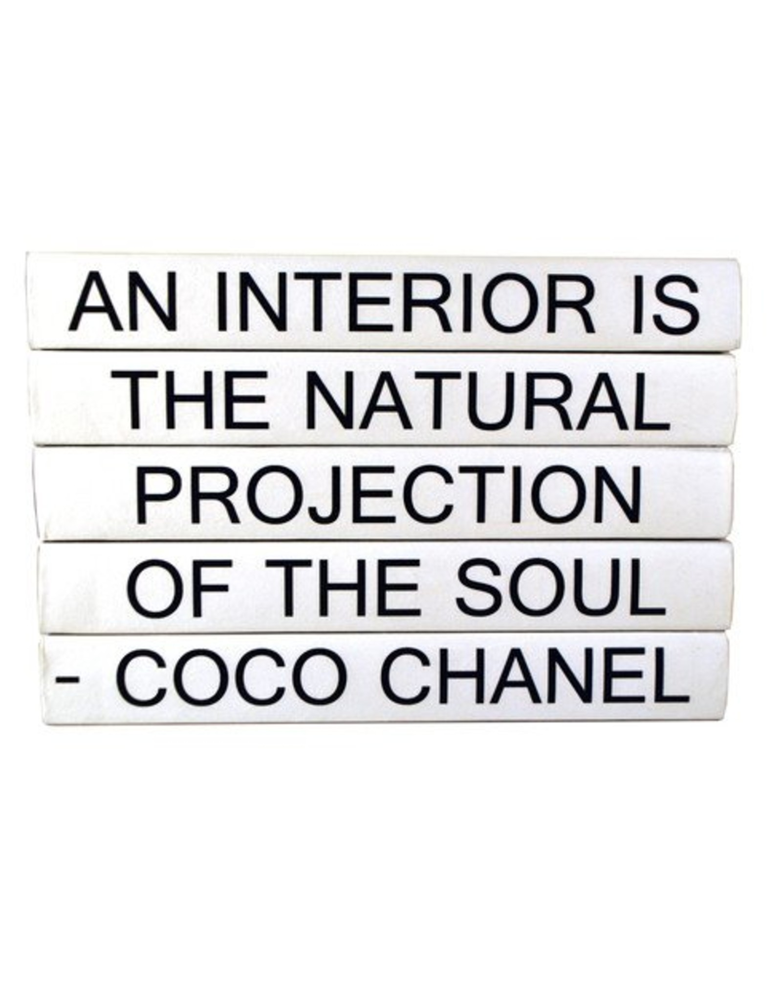"""SOD Coco Chanel """"An Interior Is..."""""""