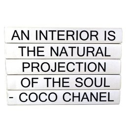 """Website Coco Chanel """"An Interior Is..."""""""