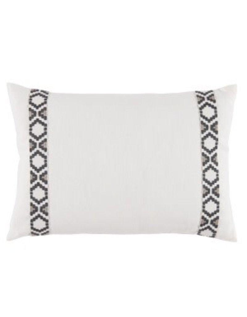 Oyster Linen 13x19 Lumbar Pillow