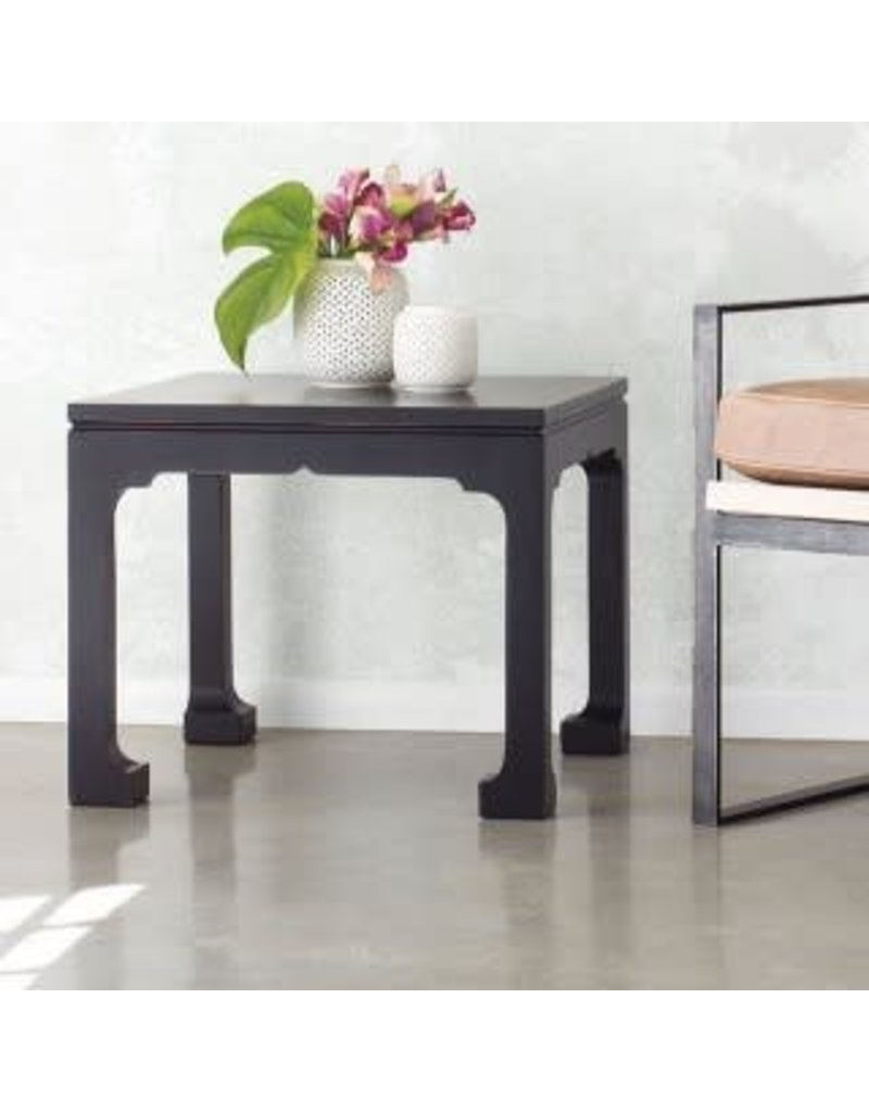 Display Morris Black Side Table