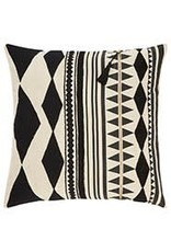 "Black Cosmic 22"" Pillow"