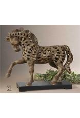 Prancing Horse Sculpture