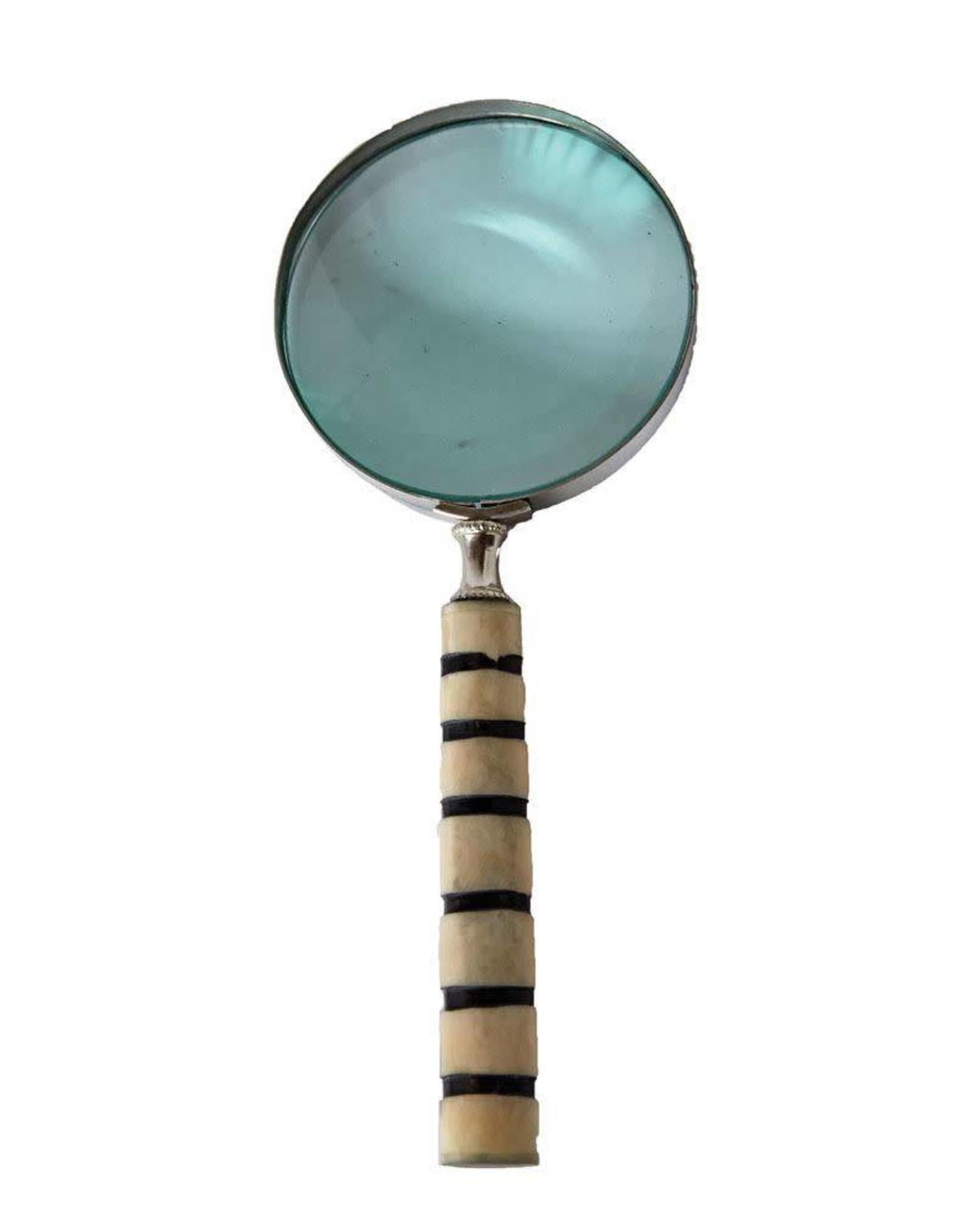 Magnifying Glass Brass/Bone