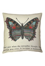 Catapillar/ Butterfly Pillow