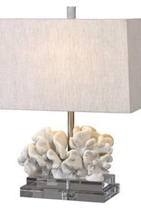Website Coral Sculpture Table Lamp