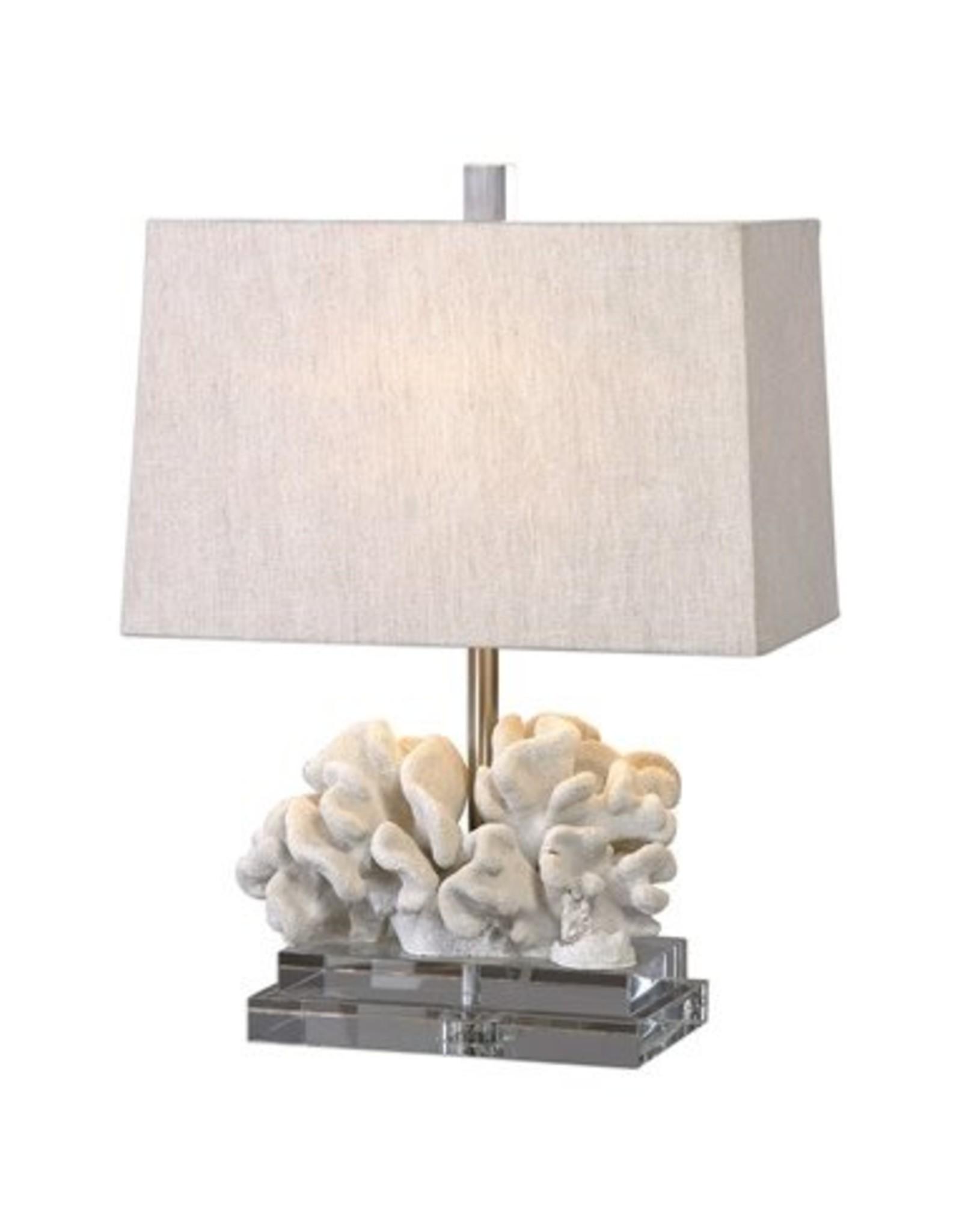 Website Coral Sculpture Table Lamp