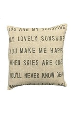 """SOD You Are My Sunshine Pillow 24"""""""
