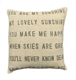SOD You Are My Sunshine Pillow 24""