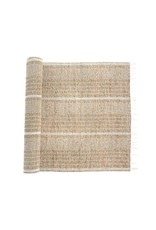 Seagrass Table Runner - White