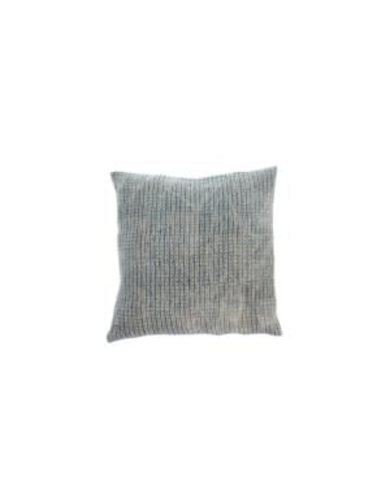 Nadi Linen Pillow, Denim