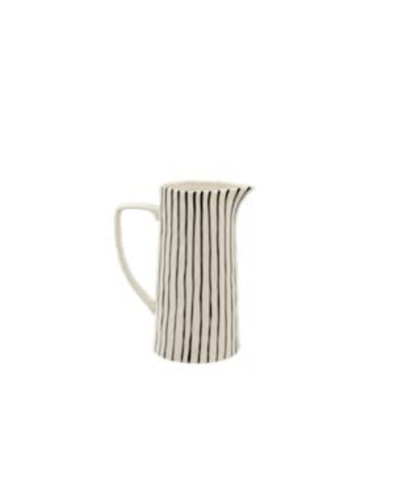Striped Pitcher