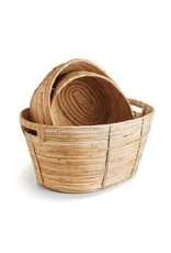 Cane Rattan Oval Basket - small