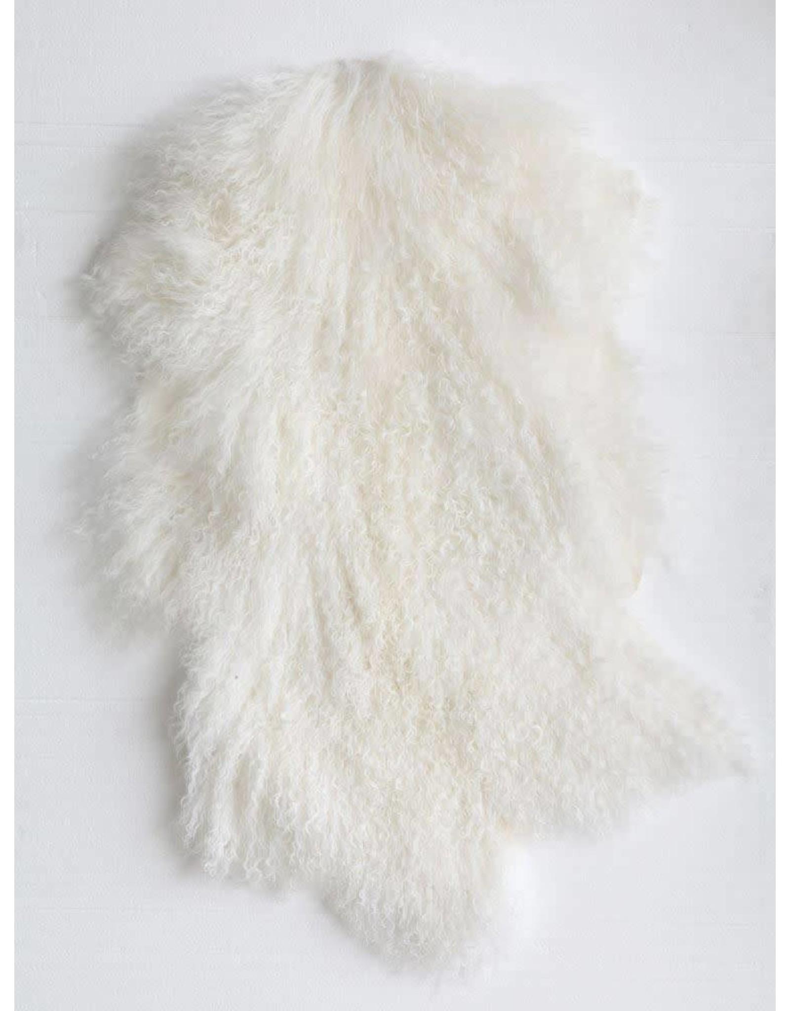 Mongolian Fur Rug 2' x 3'