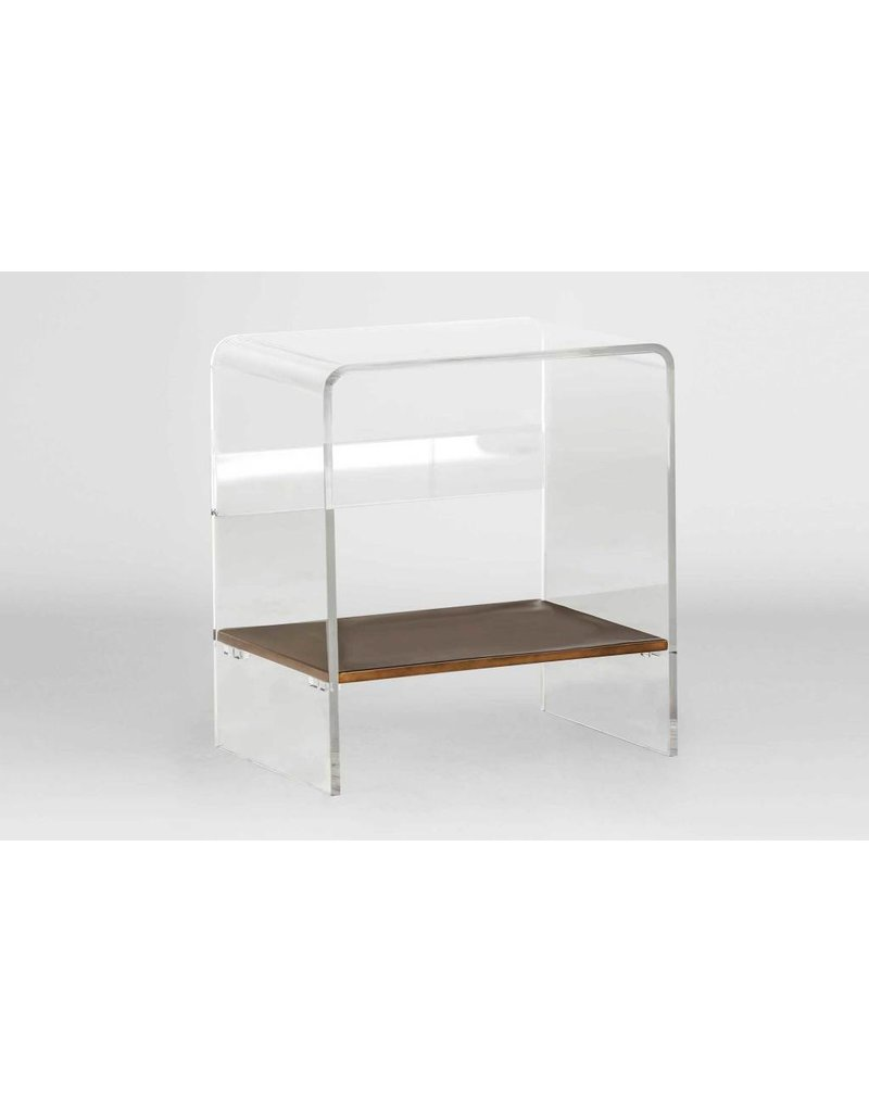 Display Sloan Lucite Waterfall Table