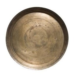 Found Decorative Brass Tray