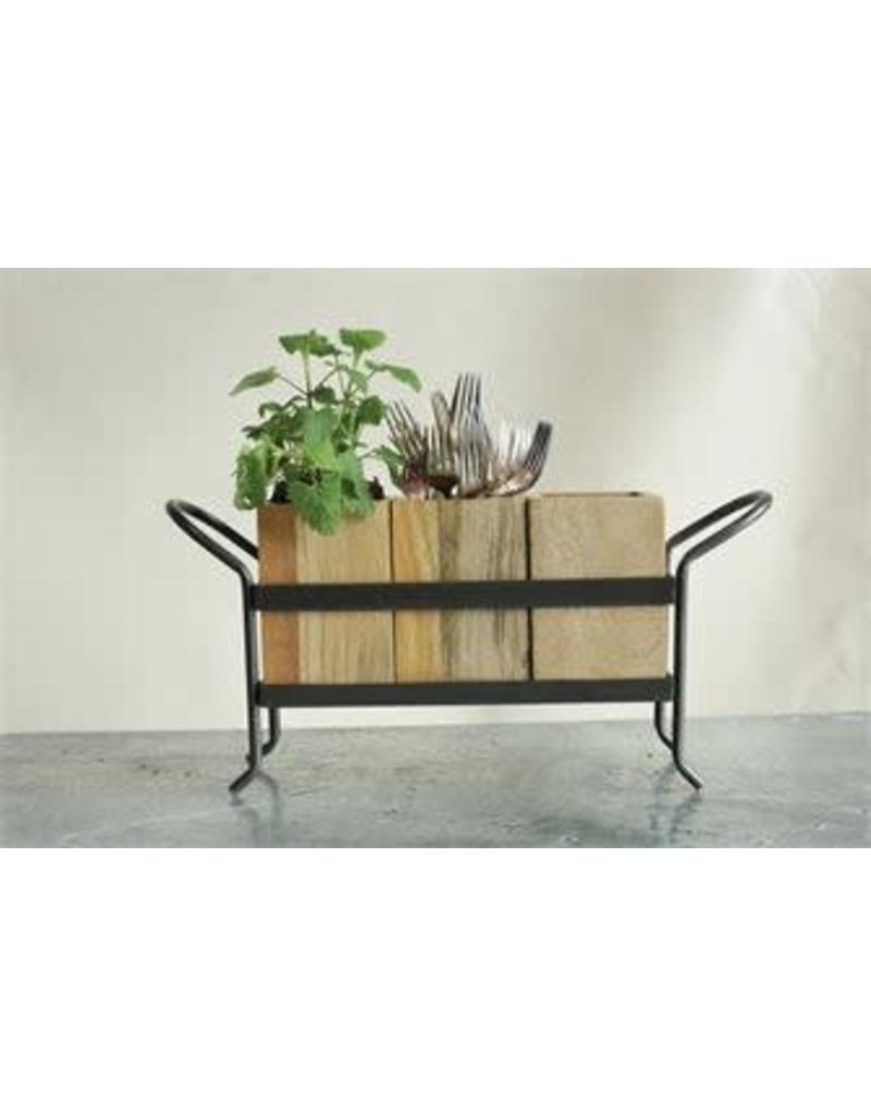 Mango Wood Container/Organizer