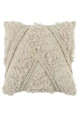 """Sahara Natural/Ivory Pillow 22"""""""