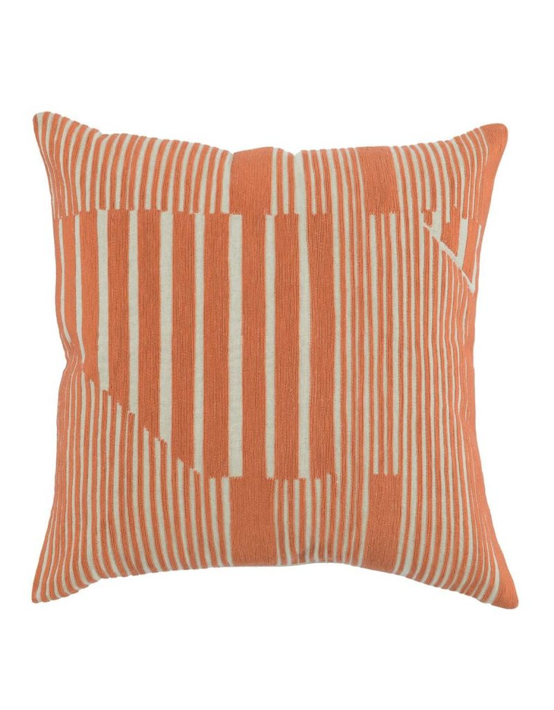 Levi Orange Pillow 22""