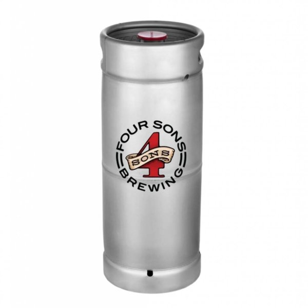 Four Sons Brewing Vier Sohne German Hefeweizen (5.5 GAL KEG)