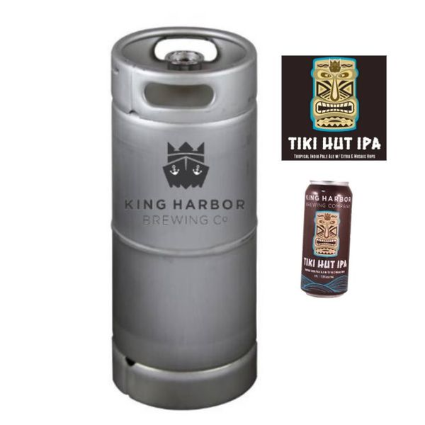 King Harbor Tiki Hut IPA (5.5 GAL KEG)