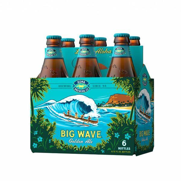 Kona Brewing Kona Big Wave Golden Ale (12OZ/6PK BTL)