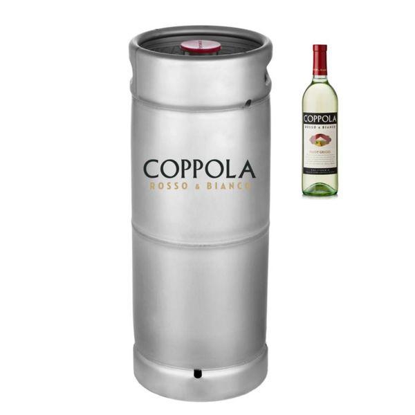 Coppola Coppola Rosso & Bianco Pinot Grigio (5.5 GAL KEG)
