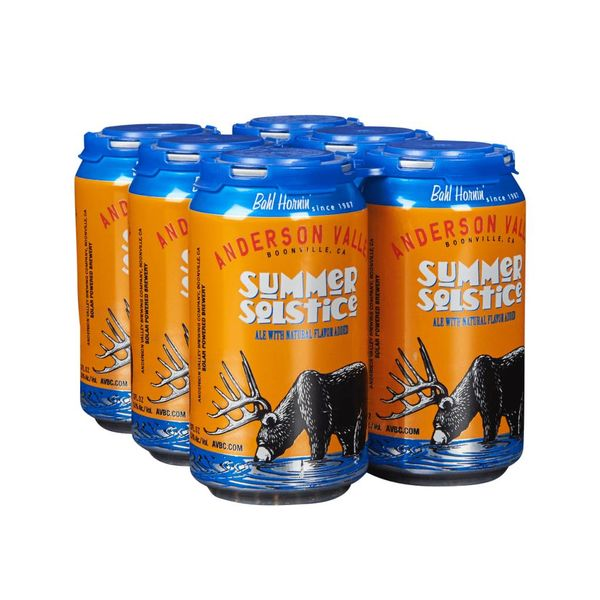 Anderson Valley Anderson Valley Summer Solstice (12OZ/6PK CANS)