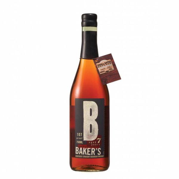 Baker's Kentucky Straight Bourbon Whiskey Aged 7 Years (750ml)