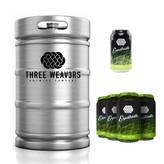 Three Weav3rs Brewing Three Weavers Expatriate IPA (15.5 GAL KEG)