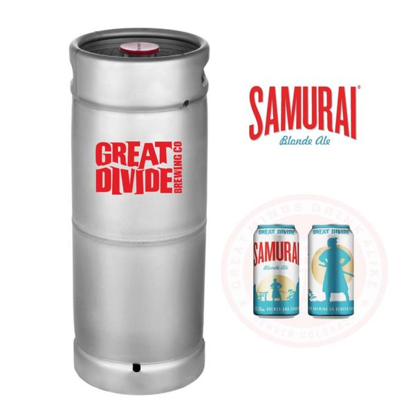 Great Divide Great Divide Samurai Blonde Ale (5.5 GAL KEG)