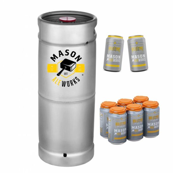 Mason Ale Works Willy Time White Ale (5.5 GAL KEG)