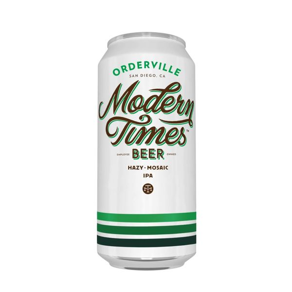Modern Times Modern Times Beer Orderville Hazy Mosaic IPA (16oz)