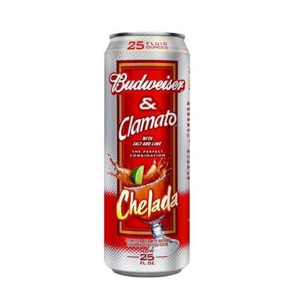 Anheuser-Busch Budweiser & Clamato Chelada (25OZ CAN)