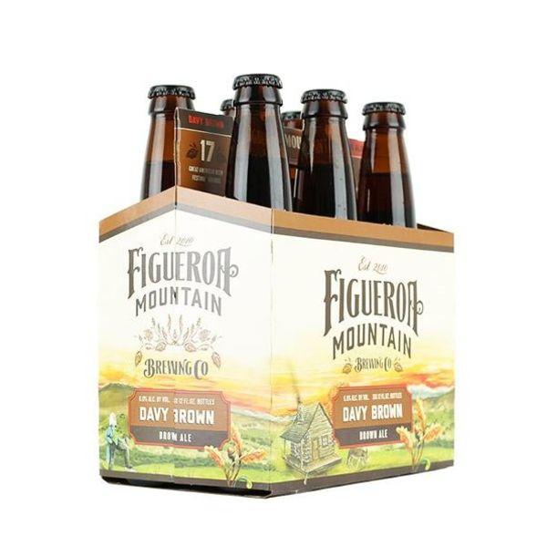 Figueroa Mountain Figueroa Mountain Davy Brown Brown Ale (6PK/12OZ)