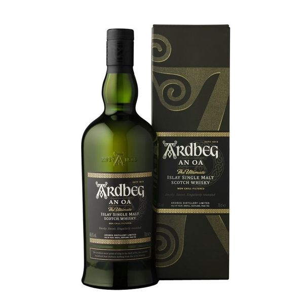 Ardbeg An Oa The Ultimate Islay Single Malt Scotch Whisky (750ml)