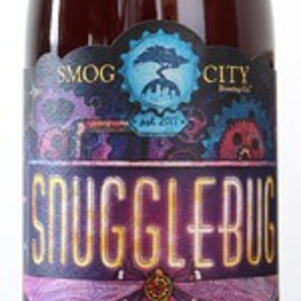 Smog City Smog City Snuggle Bug American Style Sour Blonde Ale made with Raspberries and Boysenberries (16.9oz BTL)