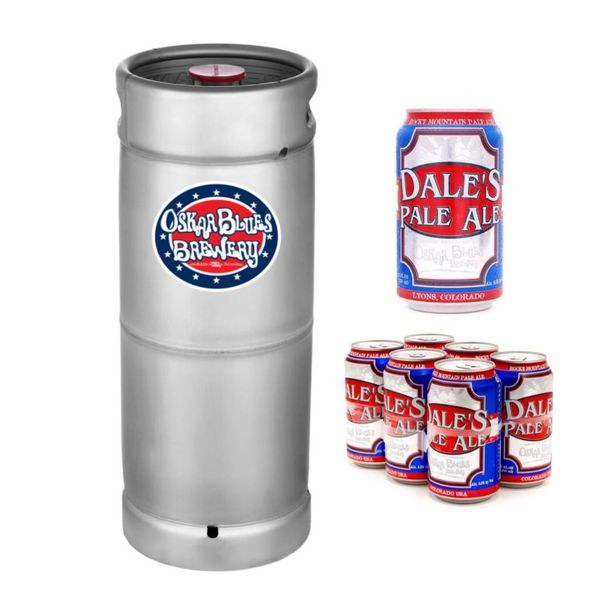 Oskar Blues Brewing Oskar Blues Dales Pale Ale (5.5 GAL KEG)