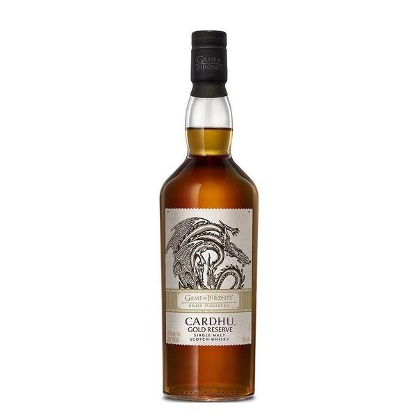 Cardhu Game of Thrones House Targaryen Gold Reserve Single Malt Scotch Whisky (750ml)