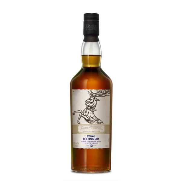 Royal Lochnagar Game of Thrones House Baratheon 12 Year Old Highland Single Malt Scotch Whisky (750ML)