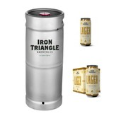 Iron Triangle Lager (5.5 GAL KEG)