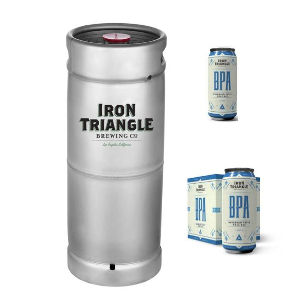 Iron Triangle BPA (5.5 GAL KEG)