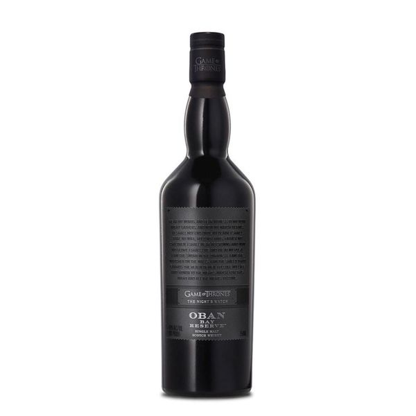Game Of Thrones The Night's Watch Oban Bay Reserve Single Malt Scotch Whisky (750ml)
