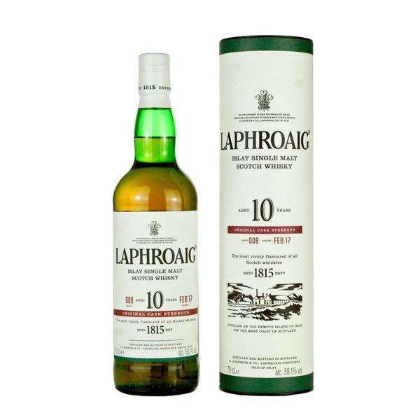 Laphroaig 10 Years Old Islay Single Malt (750ml)